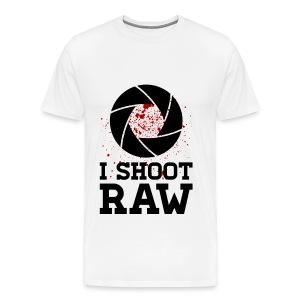 I shoot Raw Shirt - Männer Premium T-Shirt