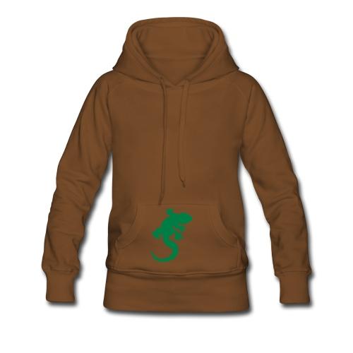 sweat lézard FEMME - Sweat-shirt à capuche Premium pour femmes