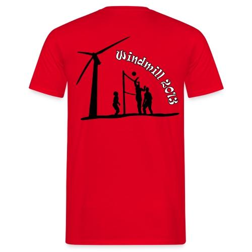 2013_rot - Männer T-Shirt
