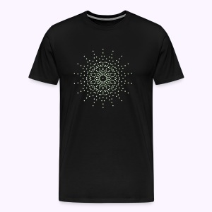 Ninth Dimension Glow in the Dark Men Premium S-5XL - Mannen Premium T-shirt