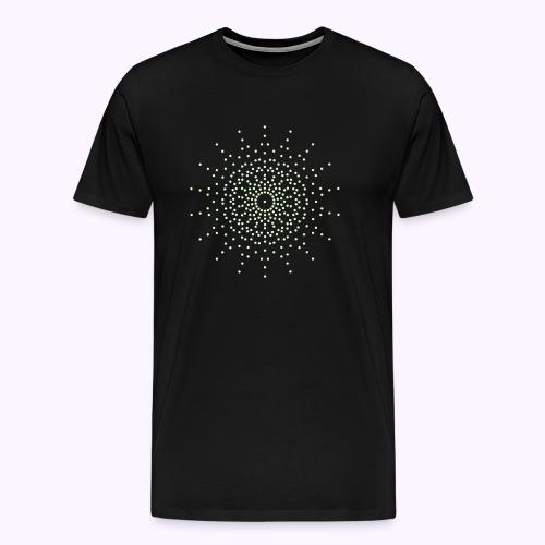 Ninth Dimension Glow in the Dark Men Premium S-5XL - Herre premium T-shirt