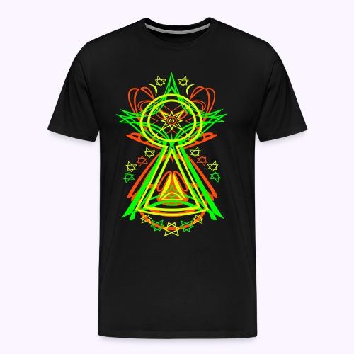 All Seeing Eye  Men Premium S-5XL - Camiseta premium hombre