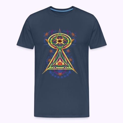 All Seeing Eye Full Color Men Premium S-5XL - Camiseta premium hombre