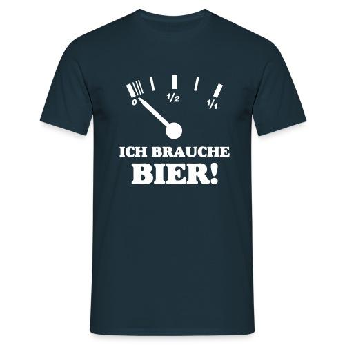 Bieranzeige3 - Männer T-Shirt