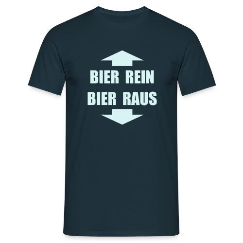 Rein -Raus Reflektiert - Männer T-Shirt