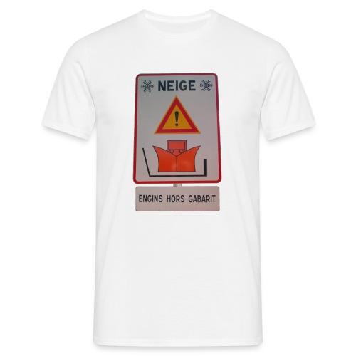 copeaux de neige - T-shirt Homme