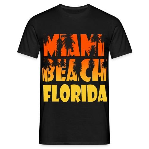 Miami Beach - Männer T-Shirt