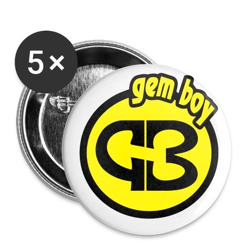 Spilla GB - Confezione da 5 spille piccole (25 mm)