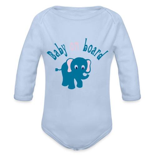 Babybody - Baby Bio-Langarm-Body