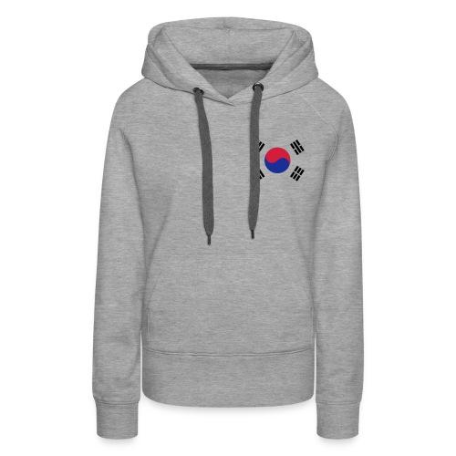 Korea - Vrouwen Premium hoodie