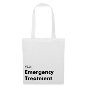 Emergency Treatment #2.2 - Tote Bag