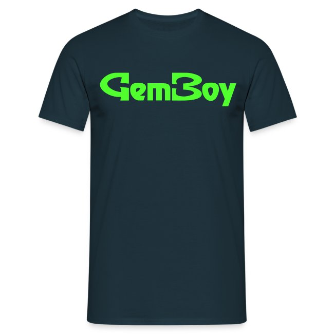 Scritta Gem Boy verde