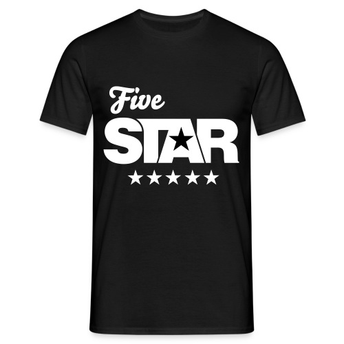 Original Five Star Tee (Black) - Men's T-Shirt