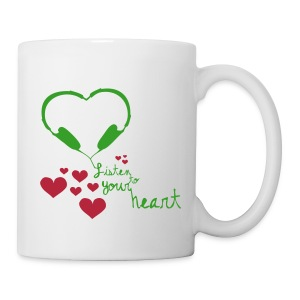Listen to your heart - Tasse - Tasse