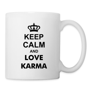 Keep Calm Love Karma - Tasse - Tasse
