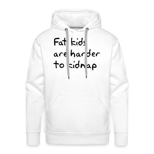 Fed hoodyfra Treasuret-shirt's -  Mange farver - Herre Premium hættetrøje