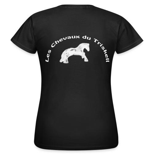 Standard Femme - Logo Dos & Poitrine - T-shirt Femme