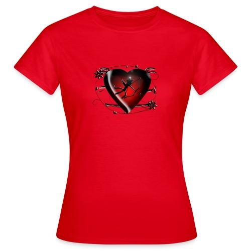 Katzenshirt Kittycat Amor - Frauen T-Shirt