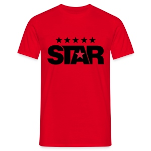 Classic Men's Tee (Red) - Men's T-Shirt