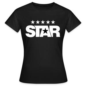Classic Women's Tee (Black) - Women's T-Shirt