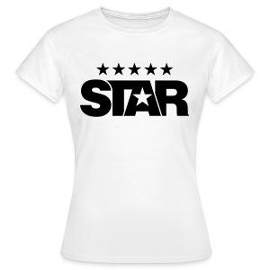 Classic Women's Tee (White) - Women's T-Shirt