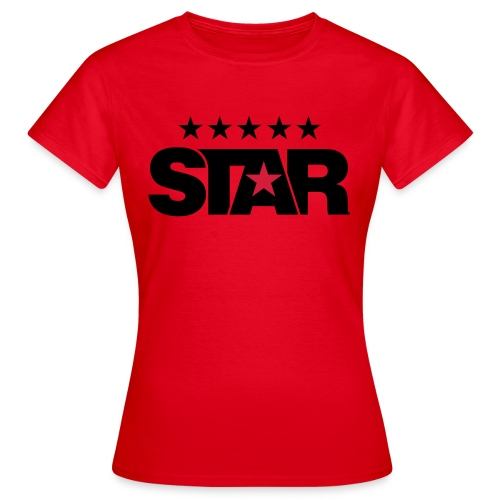Classic Women's Tee (Red) - Women's T-Shirt