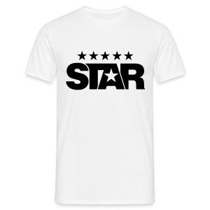 Classic Men's Tee (White) - Men's T-Shirt