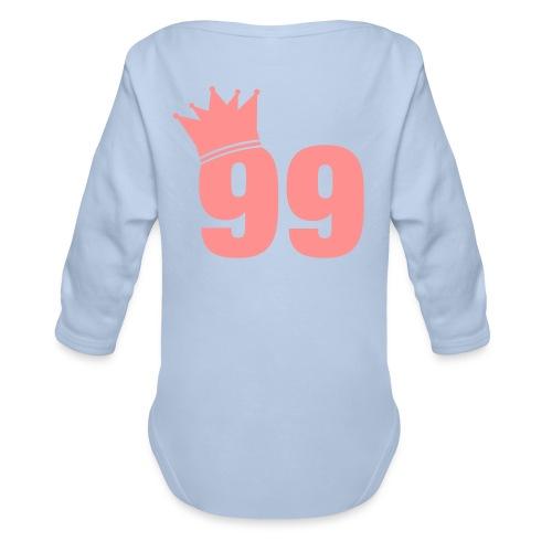 IJshockey NL | That's My Game Baby Body Lange Mouw Meisje - Baby bio-rompertje met lange mouwen