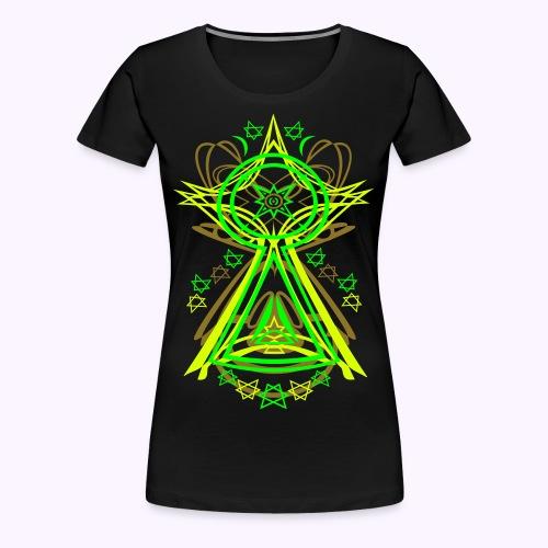 All Seeing Eye UV-Active - Classic Girlie Shirt - Camiseta premium mujer