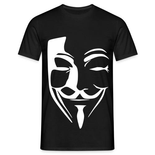 Anonymous Noir - T-shirt Homme