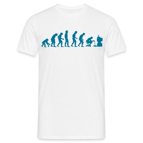 Evolution Blanc - T-shirt Homme