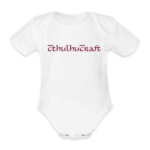 CthulhuCraft - Organic Short-sleeved Baby Bodysuit