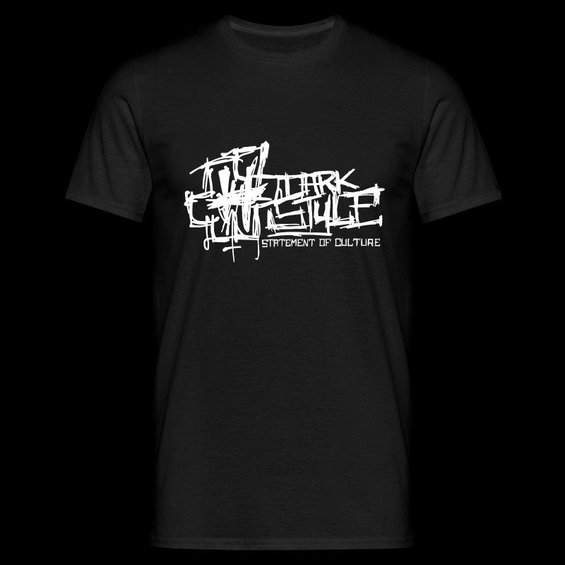 Dark Style - Statement Of Culture (white) - Herre-T-shirt