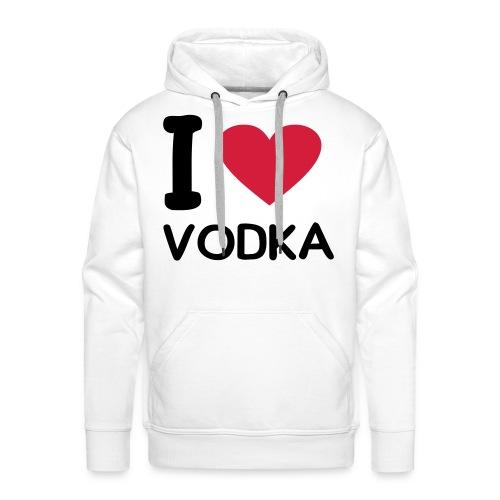 ILV wit - Mannen Premium hoodie