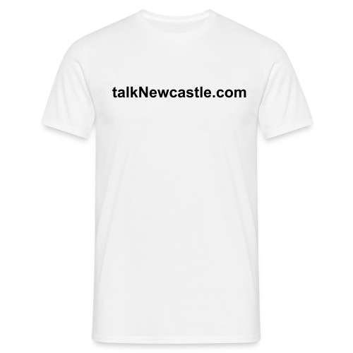 talkNewcastle Simple Tee - Men's T-Shirt