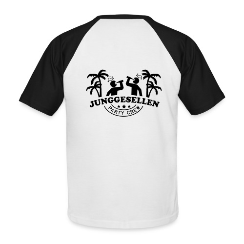 party Crew - Männer Baseball-T-Shirt