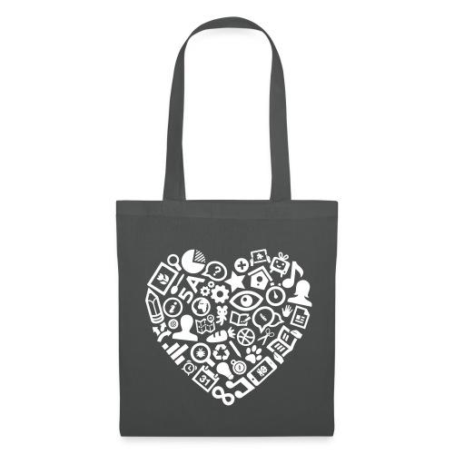 Een hart voor het onderwijs - Tas van stof