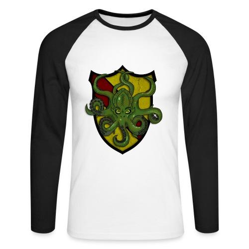 Pitkähihainen paita seuran logolla - Miesten pitkähihainen baseballpaita