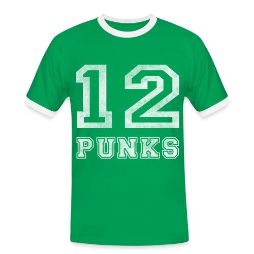 Women's Ringer Shirt - Green  - Männer Kontrast-T-Shirt