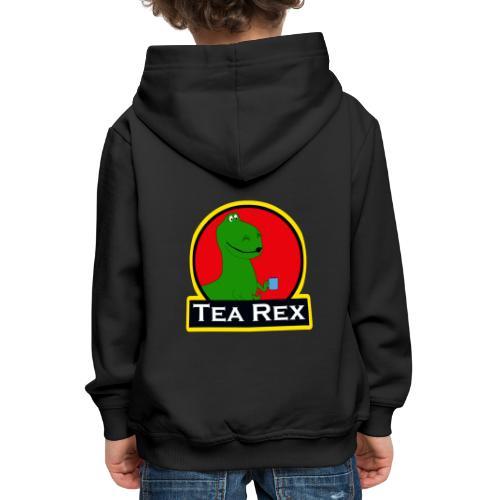 Tea Rex - Pull à capuche Premium Enfant