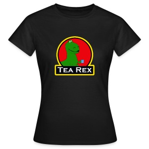 Tea Rex - Women's T-Shirt