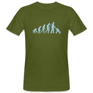 Evolution - Männer Bio-T-Shirt