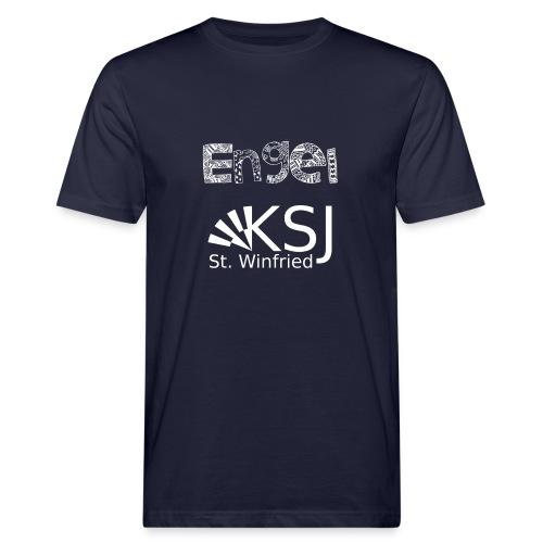 Engel - Männer Bio-T-Shirt