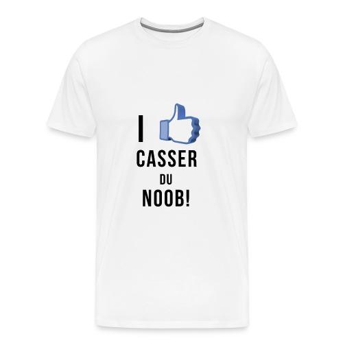 casser du noob - T-shirt Premium Homme