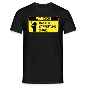 Warning (Men) - Men's T-Shirt
