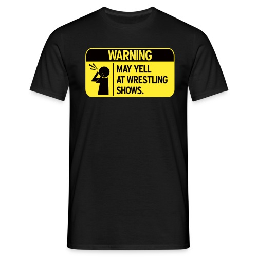Warning (Men) - Men's T-Shirt