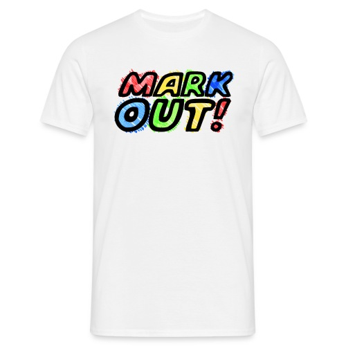 Mark Out (Men) - Men's T-Shirt