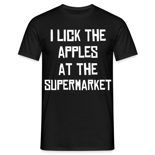 I lick the apples T-Shirt - Men's T-Shirt