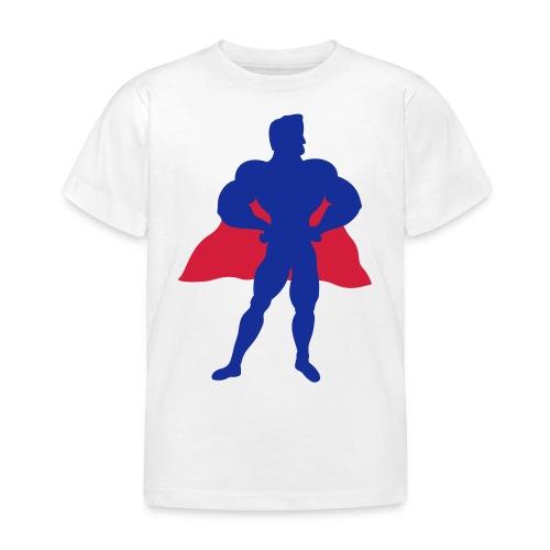 Superhelt - Børne-T-shirt