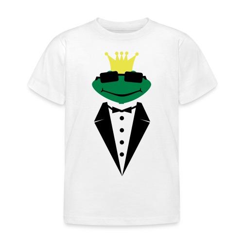 Prins frø  - Børne-T-shirt
